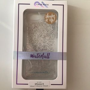 New iridescent waterfall case for iPhone 6,7&8